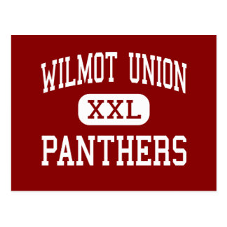 Wilmot Union - Panthers - High - Wilmot Wisconsin Postcard