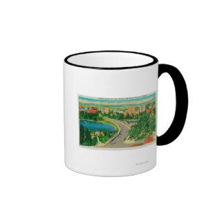 Wilshire Boulevard, Gen. Douglas MacArthur Ringer Mug