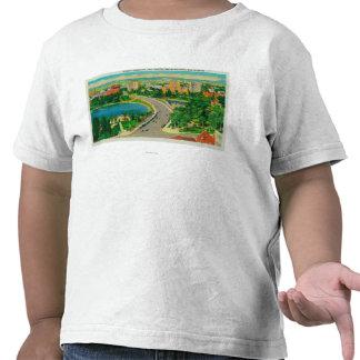 Wilshire Boulevard Gen Douglas MacArthur Tee Shirt