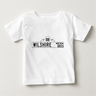 Wilshire Boulevard, Los Angeles, CA Street Sign Shirt