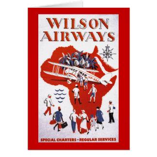 Wilson Airways Africa Greeting Cards