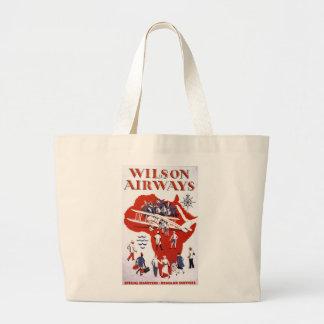 Wilson Airways ~ Africa Large Tote Bag