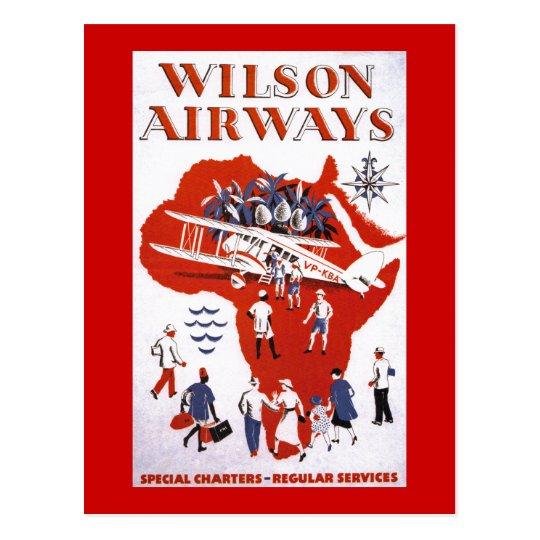 Wilson Airways ~ Africa Postcard