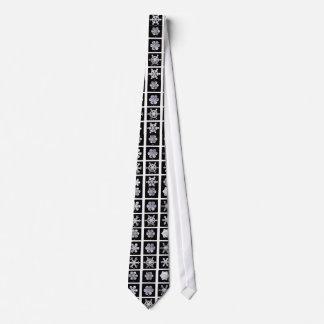 Wilson Bentley Snowflakes Tie