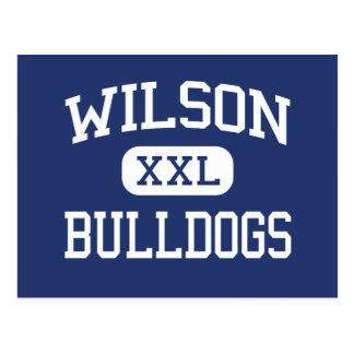 Wilson Bulldogs Middle School Tampa Florida Postcard