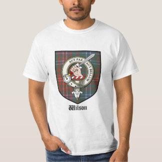 Wilson Clan Crest Badge Tartan T-Shirt