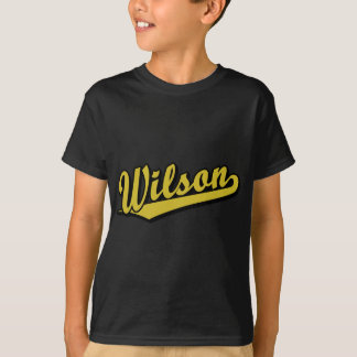 Wilson in Gold T-Shirt