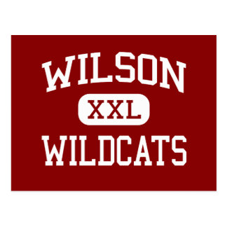 Wilson - Wildcats - High - Hacienda Heights Postcard