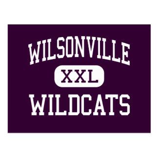 Wilsonville - Wildcats - High - Wilsonville Oregon Post Cards