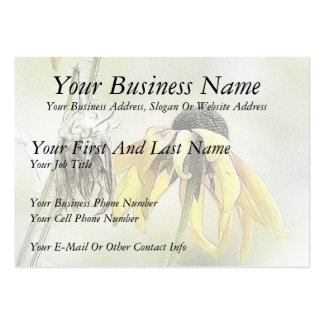 Wilted Black Eyed Susans Business Card Templates