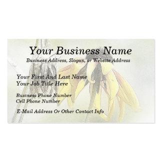 Wilted Black Eyed Susans Business Cards