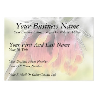 Wilted Blanket Flower Pack Of Chubby Business Cards