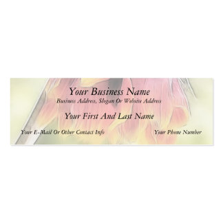 Wilted Blanket Flower Pack Of Skinny Business Cards