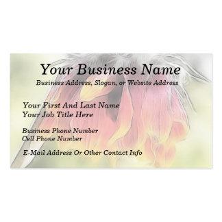 Wilted Blanket Flower Pack Of Standard Business Cards