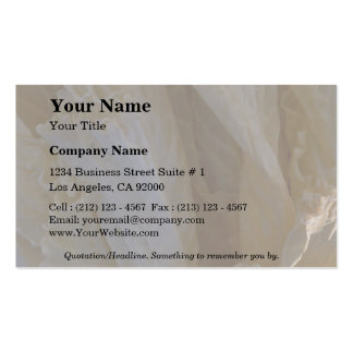 Wilted cabbage leaves pack of standard business cards