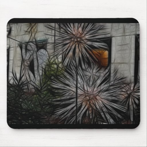 Wilted Honey Mouse Pads