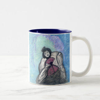 Wilting Geisha Two-Tone Coffee Mug