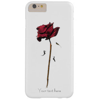 Wilting Rose Barely There iPhone 6 Plus Case