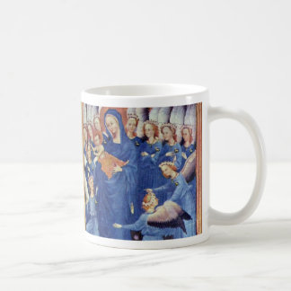 Wilton Diptych Overview By Meister Des Wilton-Dipt Basic White Mug