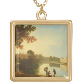 Wilton House from the South-east, c.1758-60 (oil o Gold Plated Necklace