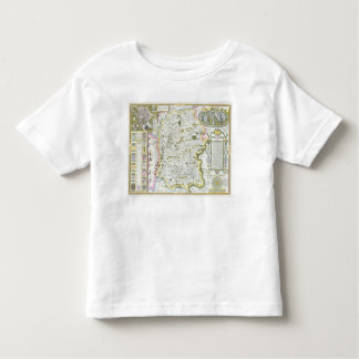 Wiltshire, engraved by Jodocus Hondius Toddler T-Shirt