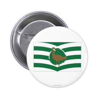 Wiltshire Flag 6 Cm Round Badge