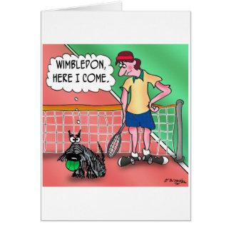 Wimbledon, Here I Come Card
