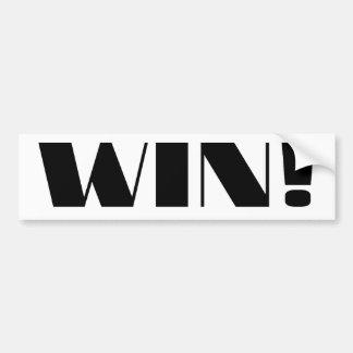 Win Bumper Stickers