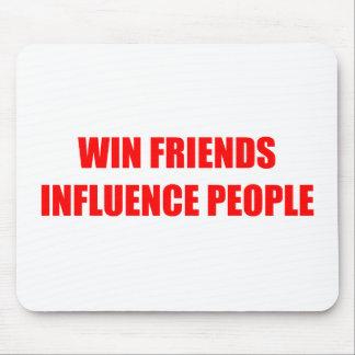 Win Friends Influence People Mousepads