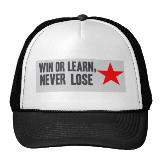 Win or Learn Mesh Hat