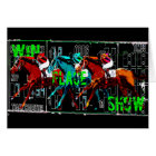 win place show horse racing card