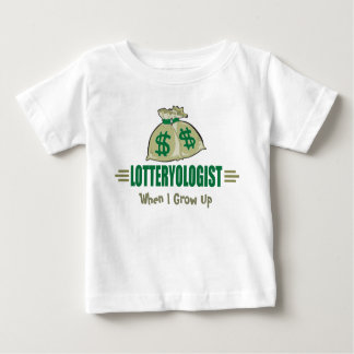 Win the Lottery! Funny Lottery Player's Baby T-Shirt