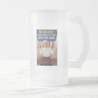 Win The War World War 2 Coffee Mugs