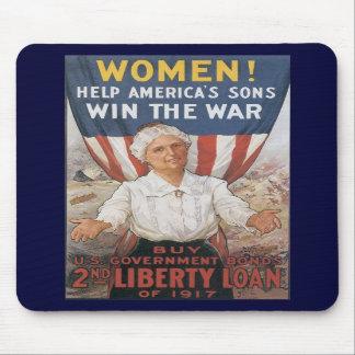 Win The War World War 2 Mousepads