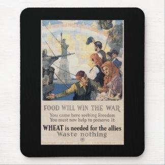 Win The War World War II Mouse Pads