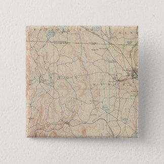 Winchendon, Massachusetts 15 Cm Square Badge