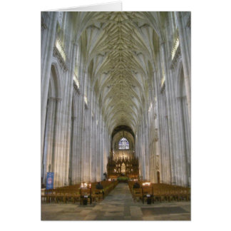 Winchester Cathedral Card