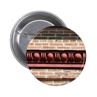 Winchester Egg and Dart Molding 6 Cm Round Badge