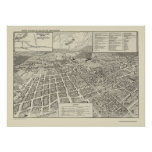 Winchester, VA Panoramic Map - 1926 Poster