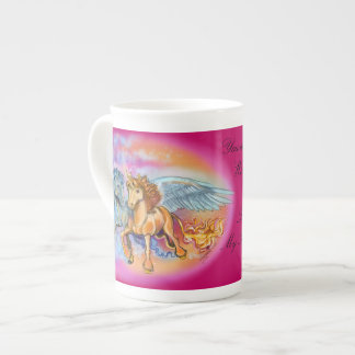 Wind and Flame Pegasus Unicorn~specialty mug