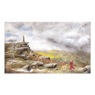 Wind and Rain over Wainman's Pinnacle Photo Art