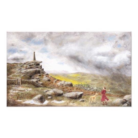 Wind and Rain over Wainman's Pinnacle Photo Art
