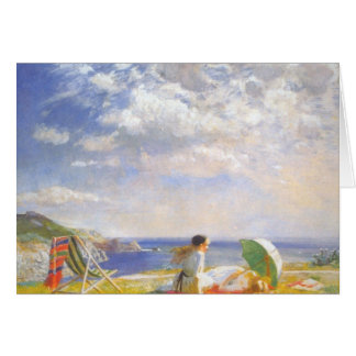 Wind and Sun by Dame Laura Knight Card