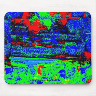 WIND AND WATER ABSTRACT MOUSEPADS