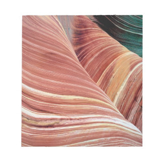 Wind and water eroded Navajo  sandstone in Notepad