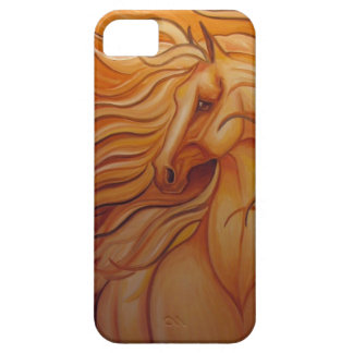 WIND BLOWN FANTASY HORSE BARELY THERE iPhone 5 CASE