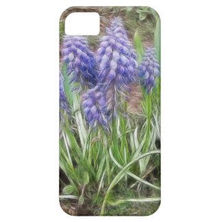 Wind Blown Grape Hyacinths iPhone 5 Case