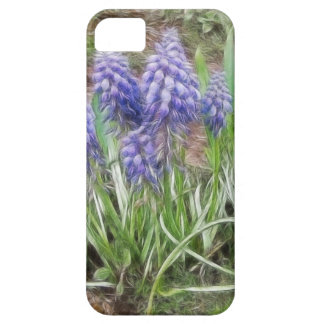 Wind Blown Grape Hyacinths iPhone 5 Cover