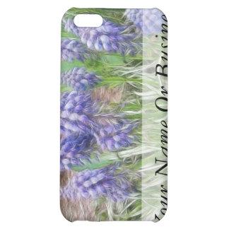 Wind Blown Grape Hyacinths iPhone 5C Cases