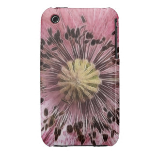 Wind Blown Poppy iPhone 3 Cover